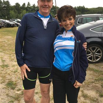 Cyclists - New England Parkinson's Ride 2019